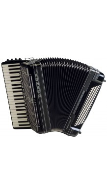 Фото HOHNER MORINO IV 120 C B/B-G CONVERTOR B-SYSTEM (Полноразмерный профессиональный аккордеон, цвет черный)