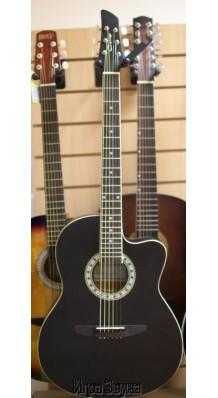 Фото CARAYA C931BLK GUITAR (Акустическая 6-струнная гитара с металлическими струнами)