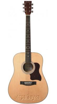 Фото CARAYA F-650NAT (Акустическая гитара 6-струнная с металлическими струнами)