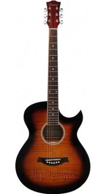 Фото CARAYA F531BS (Акустическая гитара с вырезом, рекомендуем)