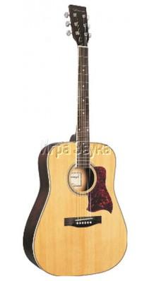 Фото CARAYA F640-NAT (Акустическая шестиструнная гитара с металлическими струнами)