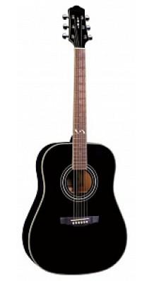 Фото NARANDA DG303BLACK (Акустическая гитара, 6-струнная, цвет черный)