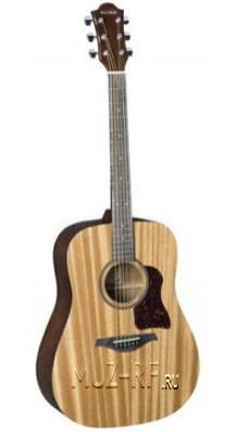 Фото HOHNER CD-65SNP CHORUS (Акустическая гитара, цвет - натуральный матовый)