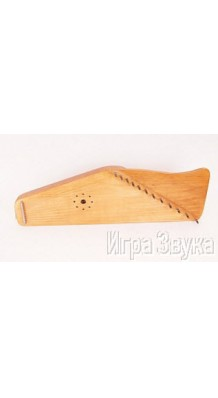 Фото МИР ГУСЛЕЙ MG-W12OA (Гусли 12 струнные с волной, цвет дуб)