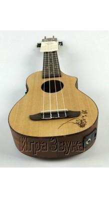 Ortega RU5CE-SO Soprano Cutaway