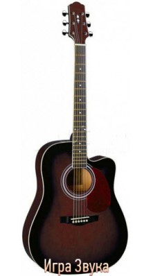 Фото NARANDA DG220C-WR (Акустическая гитара с вырезом)