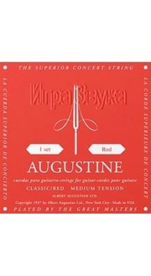 Фото AUGUSTINE CLASSIC-RED (Струны для классической гитары, нейлон среднего натяжения)