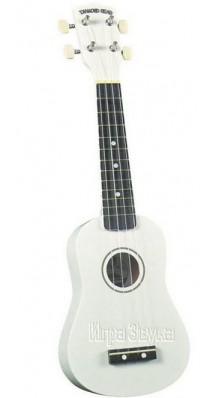 Фото DIAMOND HEAD DU-109WH (Укулеле-сопрано белого цвета, с чехлом в комплекте)