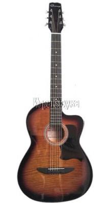 """Caraya C901T-BS Акустическая фольк-гитара 39"""" с вырезом"""