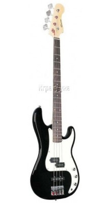 Фото CARAYA B 303 BLACK (Бас-гитара черного цвета, 4-струнная)