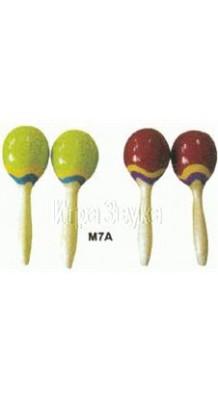 Фото FLEET M7A (Деревянные маракасы На ручке)