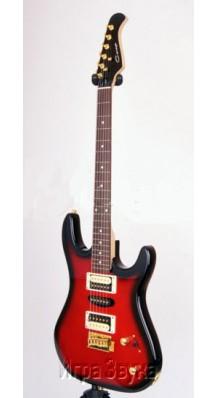 Фото CARAYA E-252 R-D-S (Электро-гитара 6-струнная формы Stratocaster)