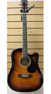 Фото CARAYA F 631 CEQ-BS (Электроакустическая гитара с вырезом)