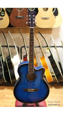 Фото ENJOY E40BL (Акустическая гитара синего цвета)