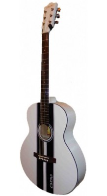 Фото CAROLS CAG737S WHBK (Акустическая гитара, выполненная в оригинальном дизайне)