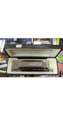 Фото GOLDEN CUP HH-1248 (Хроматическая губная гармошка со слайдером)