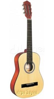 Фото CARAYA C-34NAT 1/2 (Уменьшенная гитара Классическая 1/2 с нейлоновыми струнами, для детей)
