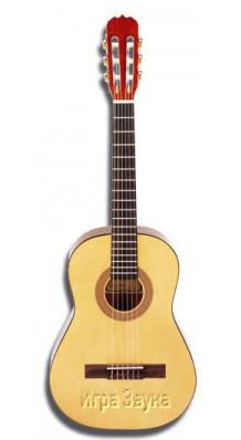 Фото HOHNER HC02 (Детская гитара Классическая, размер - 2/4 (1/2), рекомендуем для обучения в музыкальной школе)