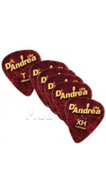 Фото D'ANDREA 11-351 GAUGED (Набор медиаторов Для гитары)