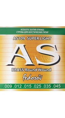Изображение Fedosov AS109 Brass Acoustic Guitar Strings