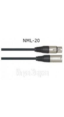 Фото LEEM NML-20 (Микрофонный моно кабель 6 метров XLR-мама/XLR-папа)