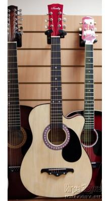 Фото NOVELTY 38C (Акустическая гитара с вырезом, с металлическими струнами)