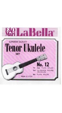 Фото LA BELLA 12-TENOR (Струны для укулеле тенор)