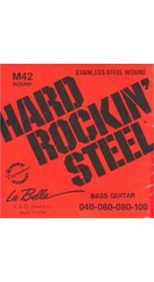 Изображение La Bella M42 Hard Rockin' Steel