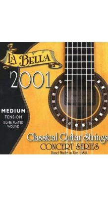 Фото LA BELLA 2001M (Струны для классической гитары среднего натяжения)