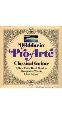 Фото D`ADDARIO EJ44 PRO ARTE EXTRA HARD (Струны нейлоновые сильного натяжения для классической гитары)