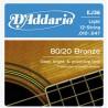 комплект струн для акустической гитары (бронза)