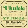 комплект струн для укулеле-сопрано, сша